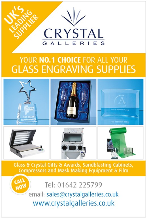 Crystal Galleries Advert